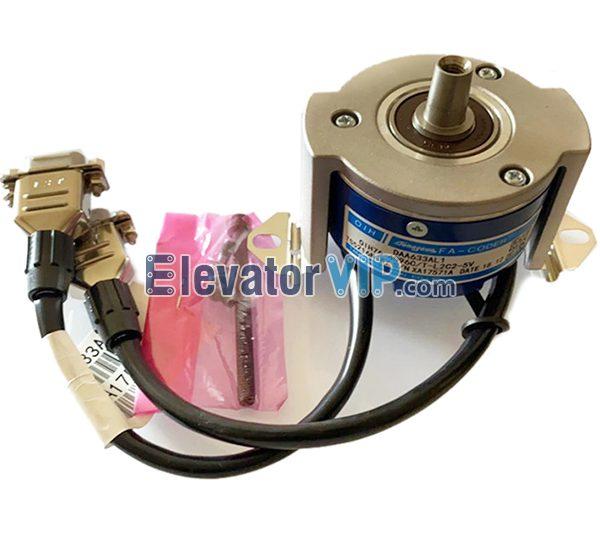 Otis Elevator Encoder, OIH76-4096C, DAA633AL1, DAA633AJ1, TS5216N487, TS5216N472, Elevator Rotary Encoder Supplier