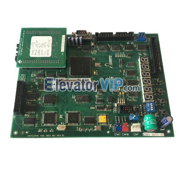 Hyundai Elevator PCB, Hyundai Lift STVF5 Board, 204C2401 H13 M33 BD REV.D1, 204C2401 H12 M33 BD REV.C2