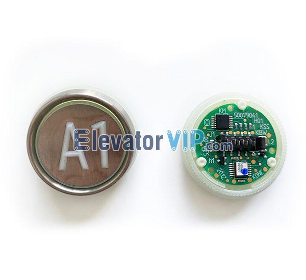 KONE Elevator Push Button, F2KKIBW Push Button, KONE KSS KIBW Push Button, KM50079041H01, 50079041H01, KM804343G13, KM804343G01, KM804343G08