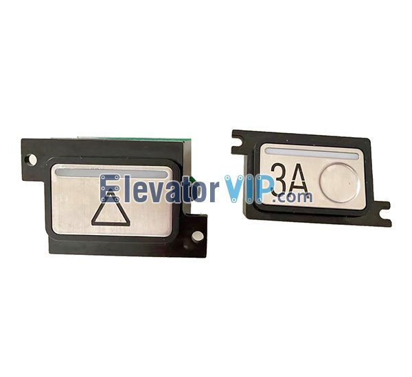Elevator Push Button, WLEM 590287H03 00909