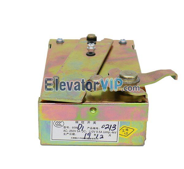 Otis Elevator Hoistway Limit Switch, Otis Elevator Safety Gear Switch, 6098D1, 6098D3