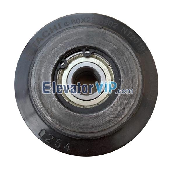 Hitachi Escalator Step Roller, HITACHI Escalator Guide Shoe Roller, Escalator Step Roller Supplier, 80×29×6202 Roller