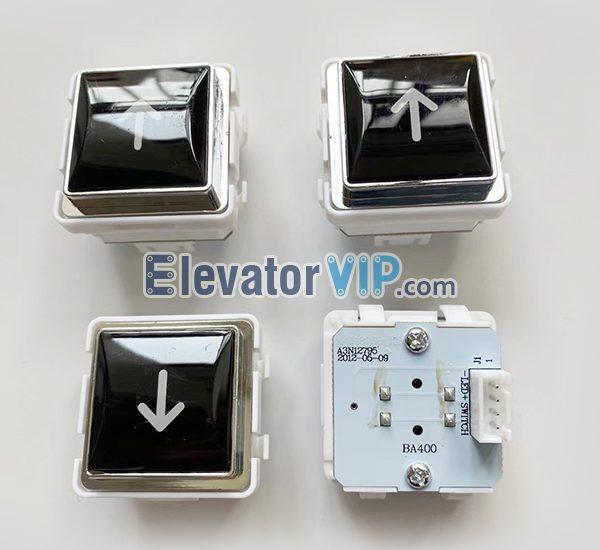Fast Elevator Push Button, BA400 Push Button, A3N12795, A4J12768