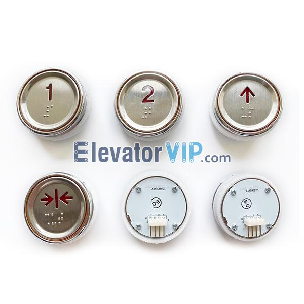 Sigma Elevator Push Button, A4N106872, A4J106872
