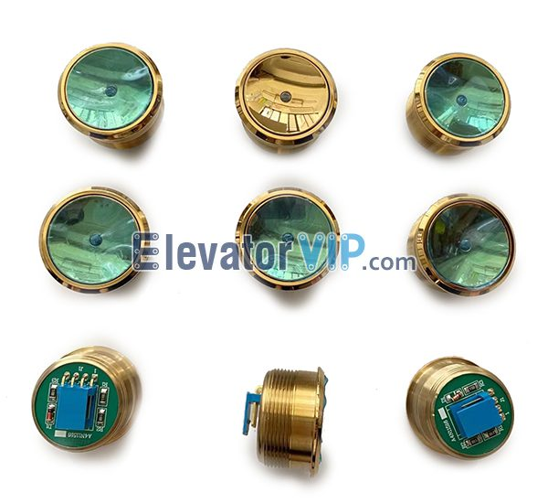 Otis Elevator Explosion Proof Push Button, Otis Lift Stainless Steel Push Button, A4N11516, A4J11517 A3