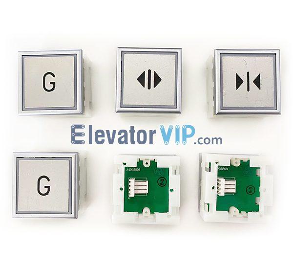 ThyssenKrupp Elevator Push Button, ThyssenKrupp Lift Push Button Red Lights, ThyssenKrupp Lift Push Button Blue Lights, A4N18898, A4J18899