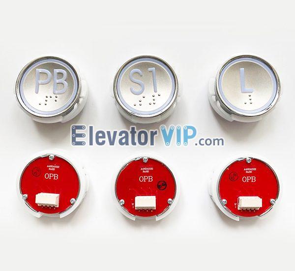 Hyundai Elevator Push Button, OPB Lift Push Button, A4N241532