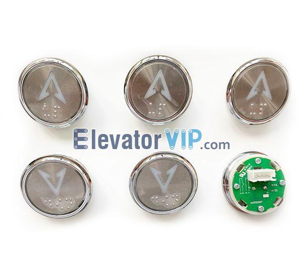 Otis Elevator Push Button, Elevator Push Button 35.6mm, Braille Elevator Push Button Supplier, A4N33067, A4J33066, A4N61737, MA1700