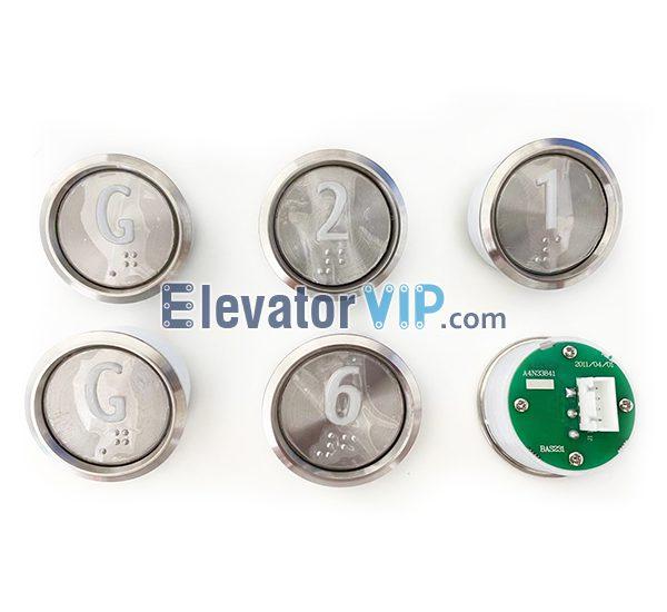 Elevator Push Button, A4N33841, BAS231, A4J33840