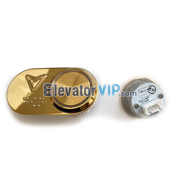 Elevator Round Push Button, BST Elevator Push Button 27.5mm, A4J52461, A4N52462