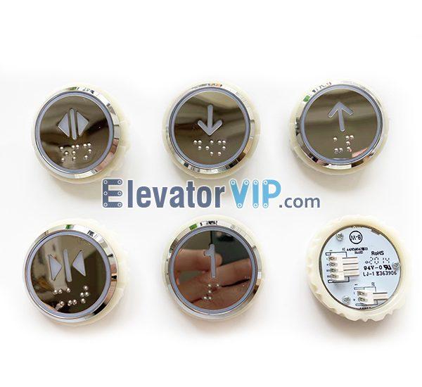 BST Elevator Push Button, A4N59843, A4J59842