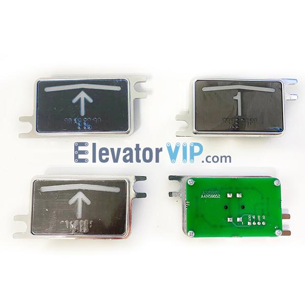 BST Elevator HOP Push Button, BST Elevator LOP Push Button, A4N59852, A4J59851