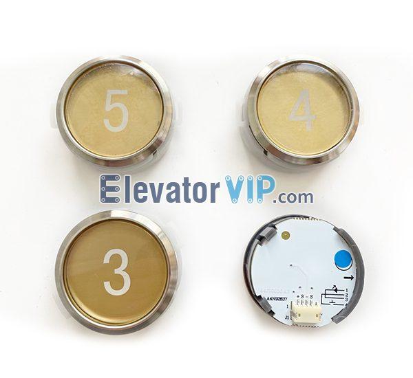 BST Elevator Push Button Round, A4N92837