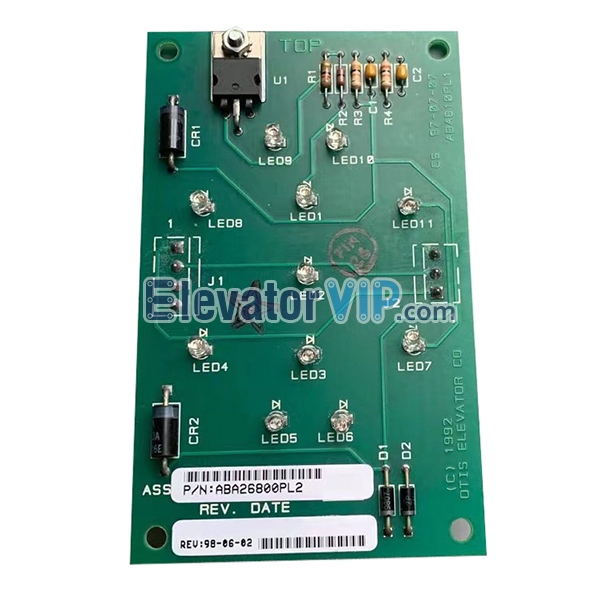 Otis Elevator Board, ABA26800PL2, ABA610PL1