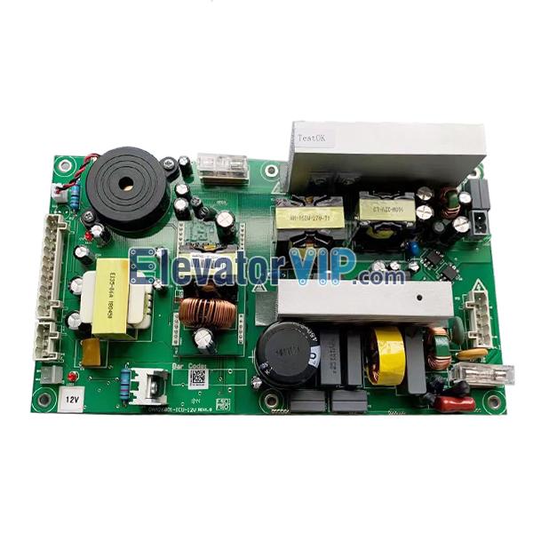 Otis Elevator Car Roof Power Supply Board, Elevator Cabin Roof Power Supply PCB, DAA26801-ICU-12V, DAA26801-ICU-24V, DAA26801F4, DAA26801