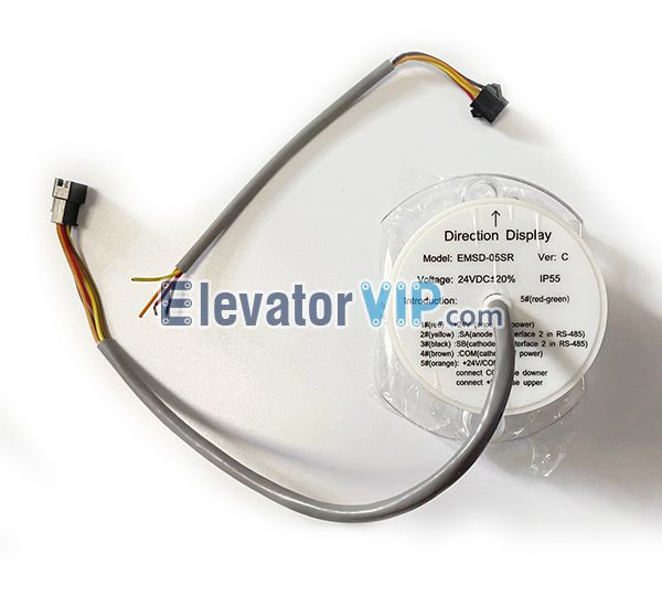 SJEC Escalator Traffic Light Direction Display, SJEC Escalator Traffic Light Direction Indicator, EMSD-05SR