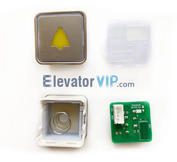 Elevator Push Button Alarm Bell, F010810B, A4J18498, A4J18641, A4J11270, A4J18495