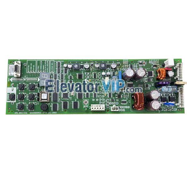 OTIS Elevator Emergency Rescue Board, SPB-ANSI/SCA, GAA26800KS1