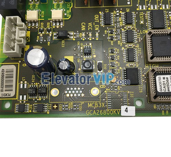 Otis Elevator Inverter Board, Otis MCB3X PCB, Otis Elevator Drive PCB, GCA26800KV4, GBA26800KV4, GCA26800KV44