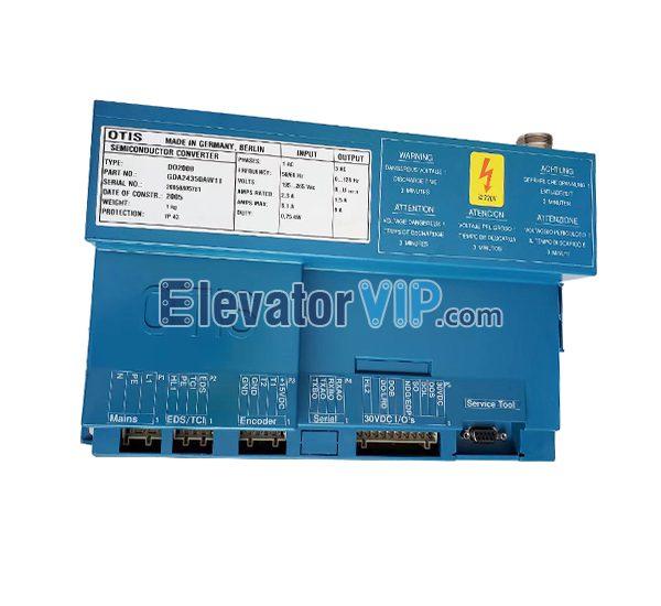Otis Elevator DO2000 Door Controller, Otis Lift DO2000 Door Inverter, Otis Elevator DCSS IV Door Controller, Otis Elevator Semiconductor Converter, Otis DCSS-4 Controller, Otis Door Controller Blue, GDA24350AW11, GBA24350AW11, GBA24353F1
