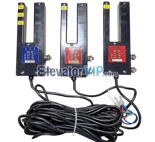Hitachi Elevator Leveling Sensor, Hitachi Elevator Photoelectric Switch, Original Elevator Photo Sensor, GOS-30C, GOS-10C