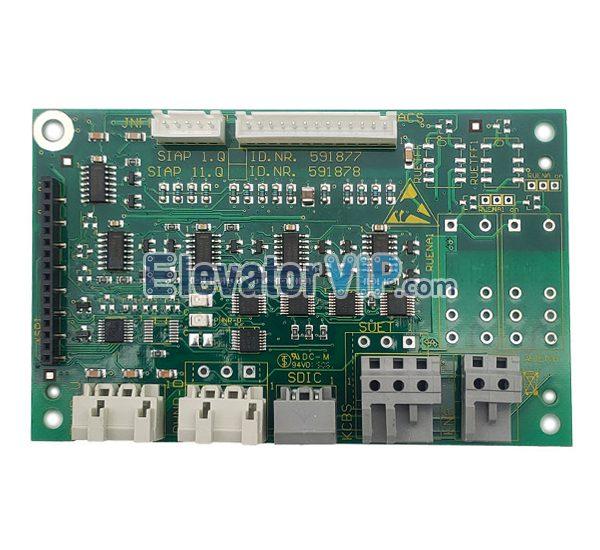 3300 Elevator Car Roof Communication Board, Elevator Car Top Communication PCB, ID.NR.591877, ID.NR.591878, ID.NR.205678
