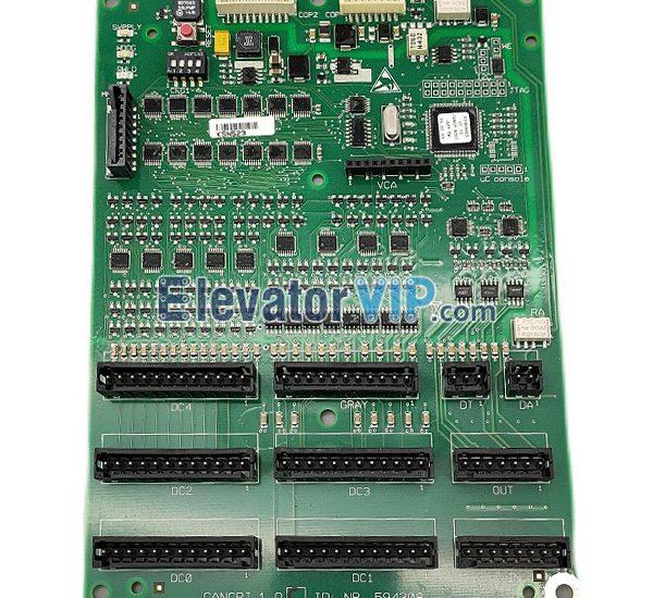 3600 Elevator Cabin Interface Board, 5500 Lift COP Interface PCB, CANCPI1.Q, ID.NR.594308