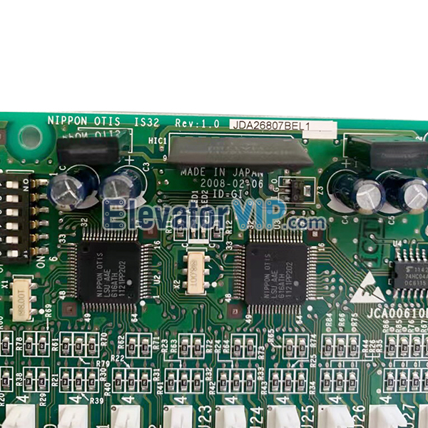 Otis Elevator Carbin Communication Board, JDA26807BEL1, JCA00610BEL001, JAA26807 BEL001 BEL003
