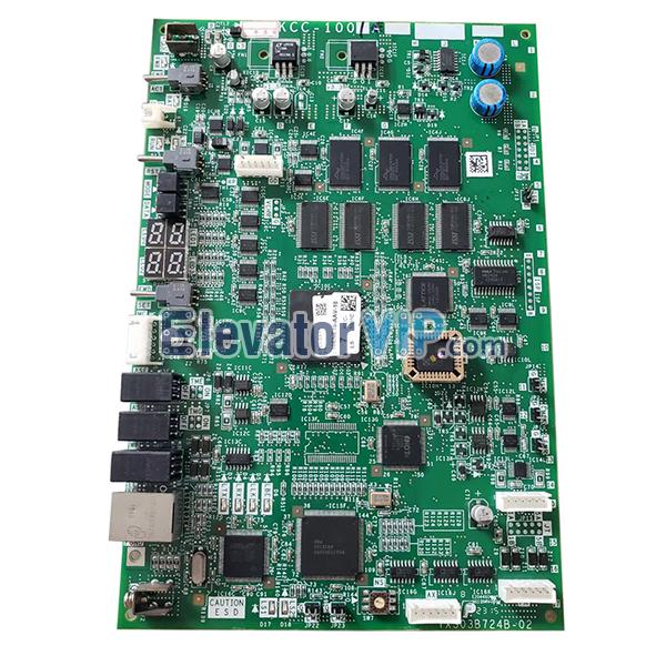 Mitsubishi Elevator MRL Group Control Board, YX303B724B, KCC-1001E, KCC-1001C