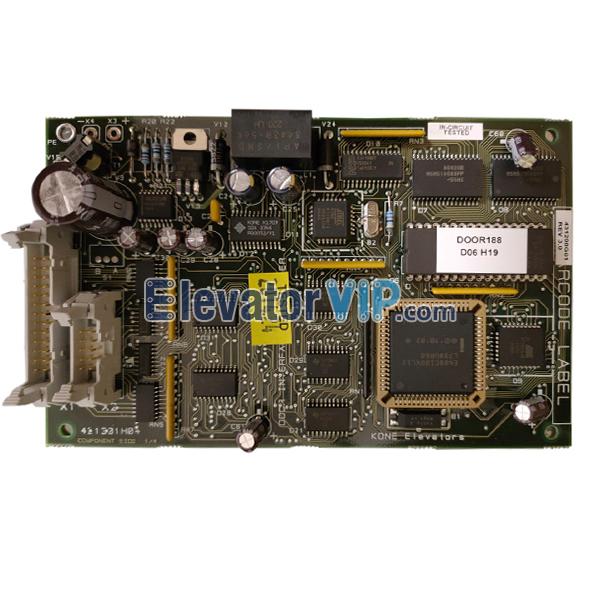 KONE Elevator CPU Board, KONE Elevator PCB Supplier, KM431298G01, 431301H04