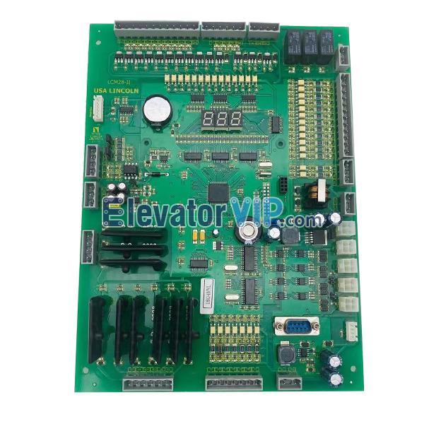 LINCOLN Elevator Control Cabinet Board, Elevator USA LINCOLN PCB, LCM28-II, LCM28-2