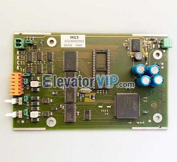 Thyssen Elevator MG3 Board, ThyssenKrupp Elevator MG3 Group Control PCB, 65230002902