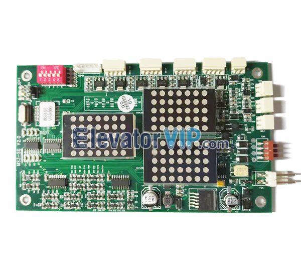 ThyssenKrupp Elevator LOP Display Board, Thyssen Lift HOP Display PCB, MS3-SG, MS3-S, G264A, G-264F