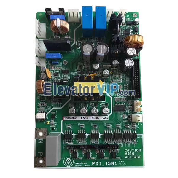 Thyssen Elevator Drive Board, Thyssenkrupp Elevator Inverter Drive Board, PDI_15M1, PDI15M1