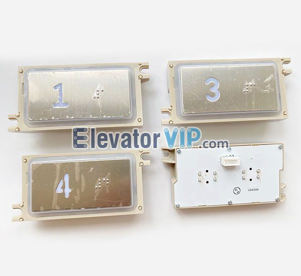 Elevator HOP Push Button, Elevator LOP Push Button, Elevator COP Push Button, A3J93967, A3N93968, A4N89024, A4NJ89023