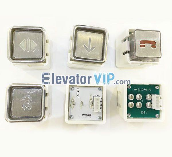 BST Elevator Push Button, BA160 Push Button, BA161 Button, A4J11270, A4J11269, A3N10956