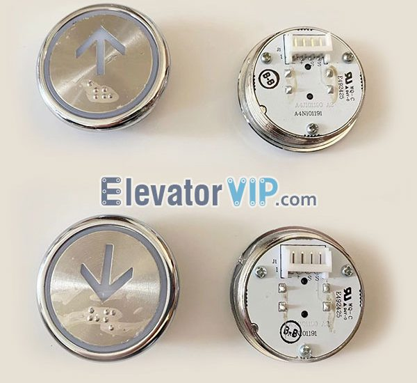 BST Elevator HOP Push Button, BST Lift LOP Push Button, A4N101191, A4J101190