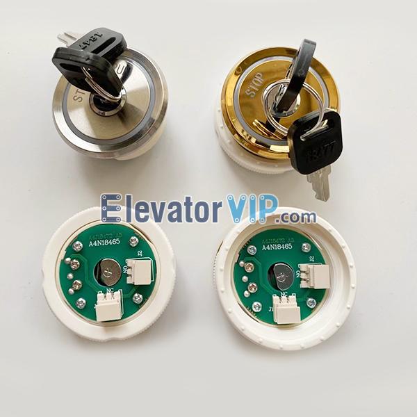 Fuji Elevator Outbound Base Station Lock, Elevator Base Station Lock Supplier, A4N18465, A4J18472