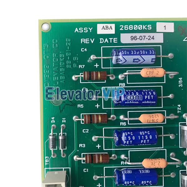 Otis Elevator Standby Power Service Board, Otis Elevator 411 Relay PCB, ABA26800KS1