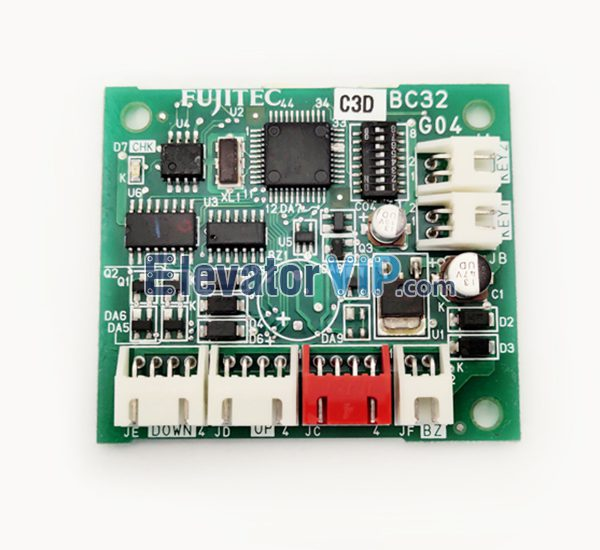 Fujitec Elevator LOP Display Board, Fujitec Elevator LOP Indicator PCB, BC32G04