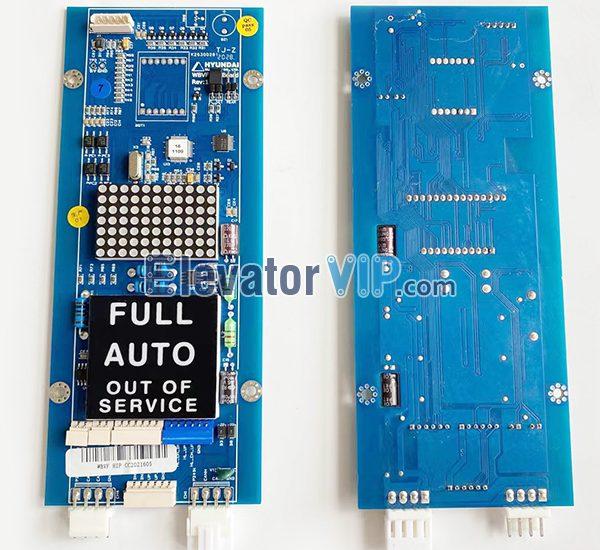 Hyundai STVF9 Elevator Display Board, Hyundai Elevator WBVF HIP PCB, Hyundai Elevator HOP Indicator Board, Hyundai Lift LOP Display Board, CC-910