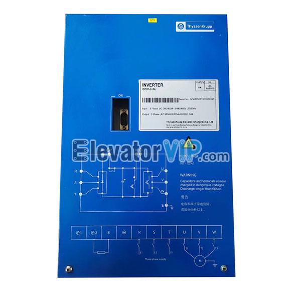 Thyssenkrupp Elevator Inverter, Thyssen Elevator Drive, CPIC-II-34, CPIC-II-41, CPIC-II-18, CPIC-II-27