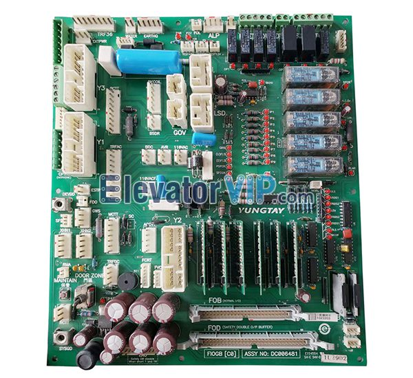 Yungtay Elevator ENT Control Cabinet Board, DC006481, FIOGBC0