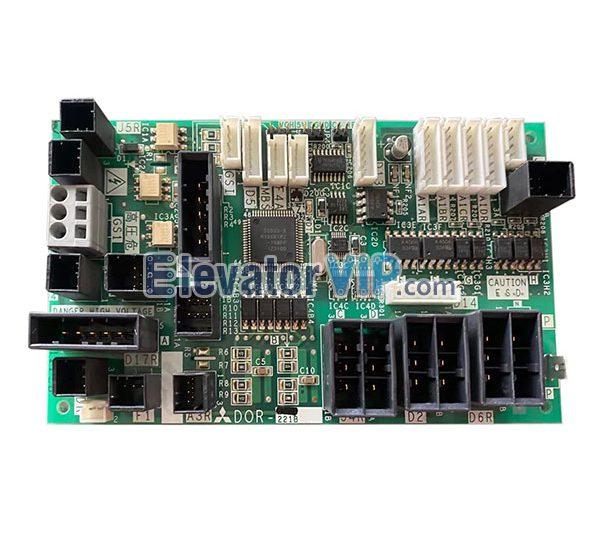Mitsubishi Elevator Door Motor Power Supply Board, DOR-221B, DOR-221A, YX401B184