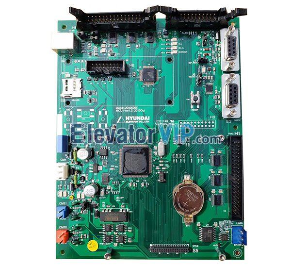 Hyundai Elevator MCU PCB, Dwg.N.20400065, DWG.N.20400068