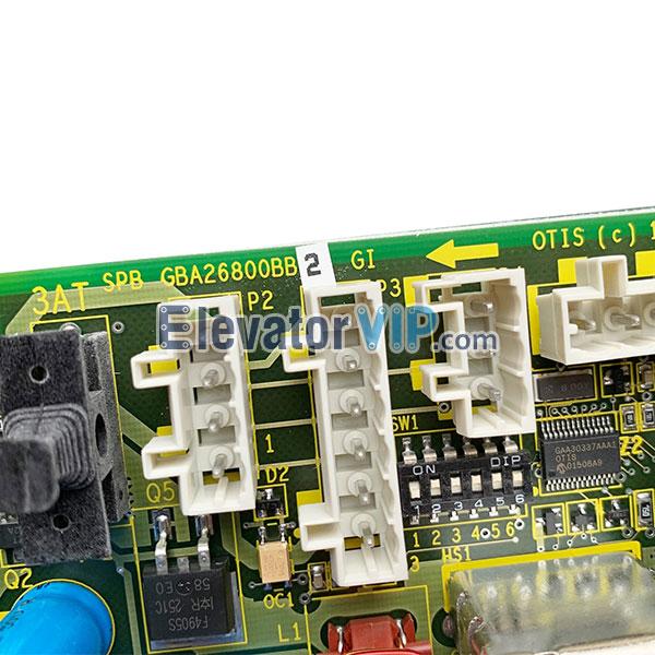 Otis Gen2 Elevator Rescue SPB Board, GBA26800BB2, GBA26800BB1