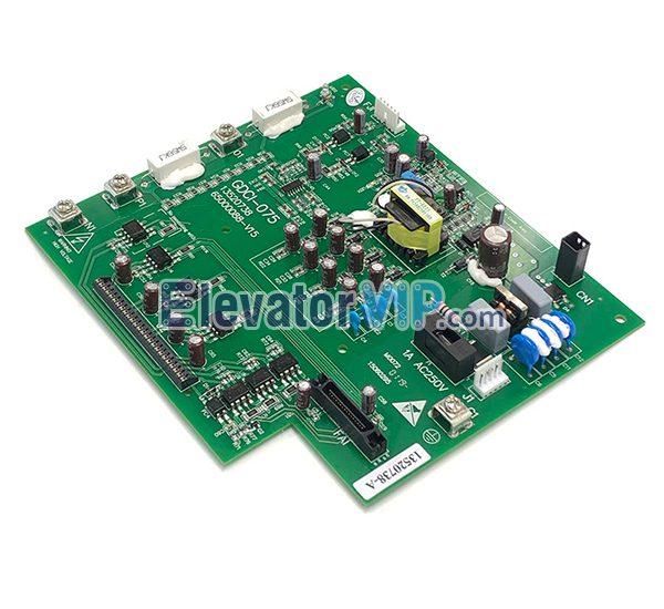 GDCI-075, Hitachi Elevator MCA Drive Board, 13520738-A, 13520738-B, 65000088-V15, 65000088-V14