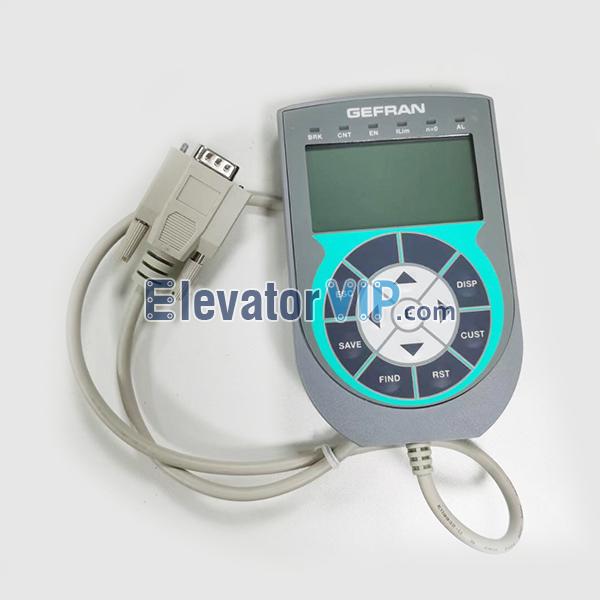 SIEI Elevator Drive Keypad, SIEI Elevator Inverter Service Tool, AVY-M-NR, KBS3/ICS-ADL200, KB-ADL, TBKB-ADL