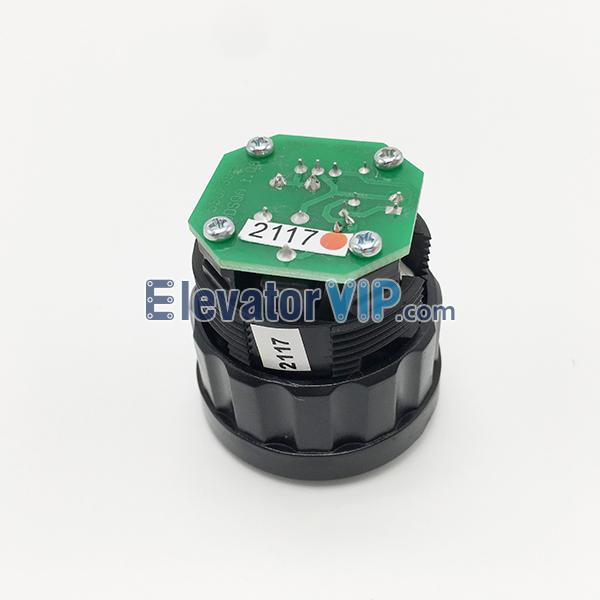 Schindler Elevator Push Button D-type, 5400 Lift D-button, HAZT-0510, HAZT-0508, ID.NR.590739, ID.NR.590740, ID.NR.590745, D2DSQR, D2DSQG, 028-L8FA, DDSQA 1.QA