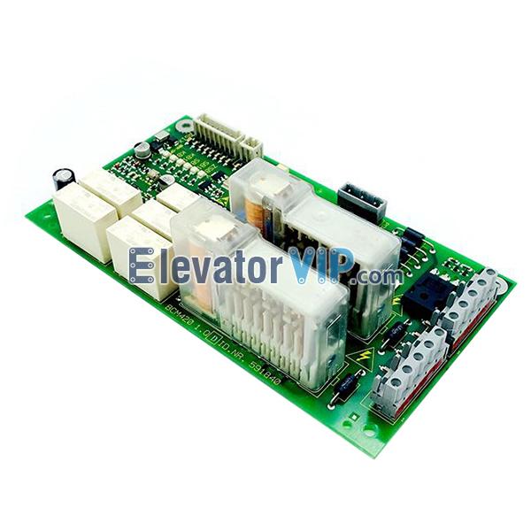 5400 Elevator Brake Board, BCM420 1.Q, ID.NR.591840